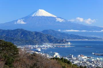 日本平から見た富士山