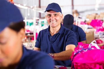 middle aged dressmaker
