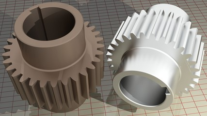 Gears - Toothed wheels
