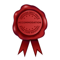 Certified Best Price Accommodation Wax Seal