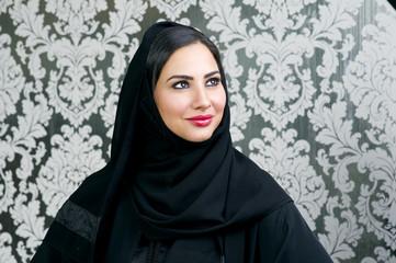 beautiful arabian Woman posing