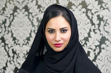 Portrait of a Beautiful Arabian Woman