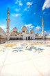 Sheikh Zayed Mosque, Abu Dhabi, United Arab Emirates. - 71199207
