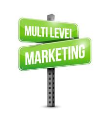 multi level marketing sign
