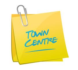 town centre memo post