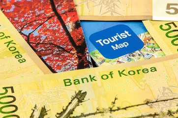 South korea Won cash