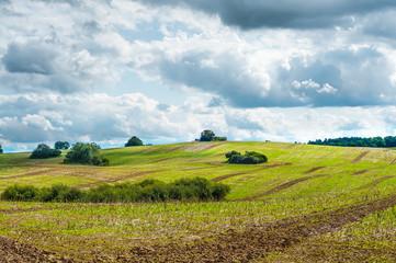 Herbstliche Landschaft, Agrikultur, Landwirtschaft
