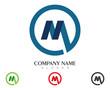 M Logo Template 4