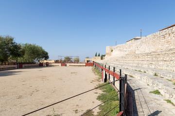 Bullring in Hita, Guadalajara, Spain