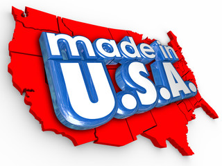Made in USA America Production Manufacturing Goods Products