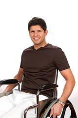 Wheelchair Disabled Man