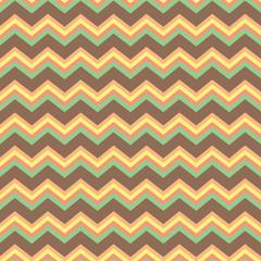 Chevron pattern in pastels