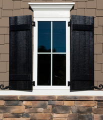 Residential house window design