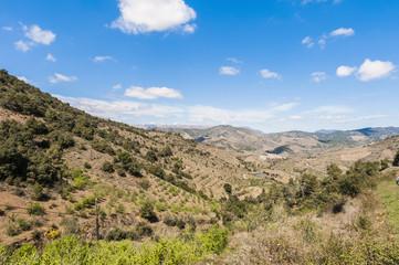 Porrera village at Tarragona, Spain