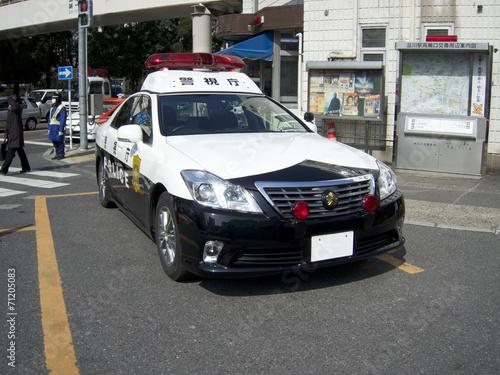 東京のパトカー