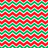 Fototapeta Chevron pattern in red and green
