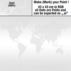 Punkte_Weltkarte_Dots_world_map