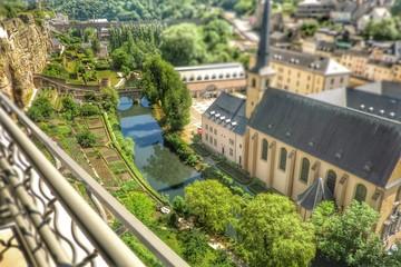 Festungsmauern der Stadt Luxemburg, Europa
