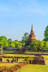 Sukhothai historical park: the old town of Thailand in 800 years