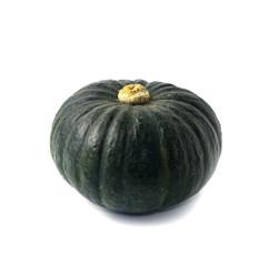 Japanese pumpkin white background