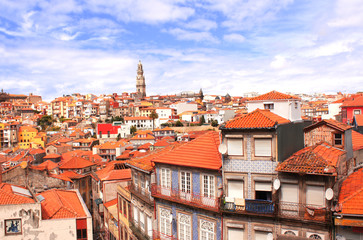 Old houses in Porto, Portugal