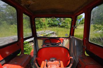 Kabine Oldtimer Traktor