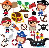 pirates kids clip art