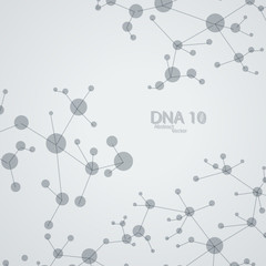 Futuristic dna eps 10