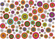 color vector paisley flowers