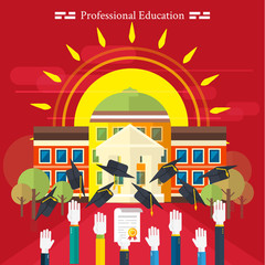 Education, online education, professional education