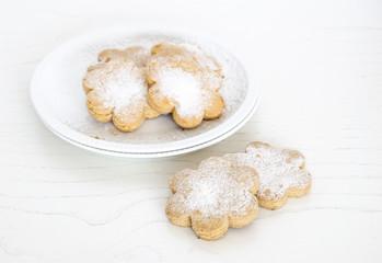 Freshly baked sugar cookies