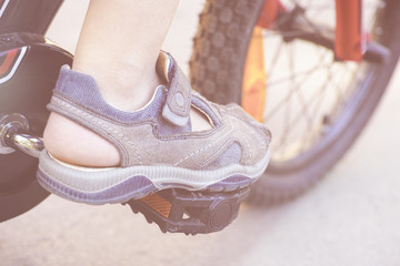 Child's Bike Ride