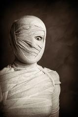 female mummy retro style
