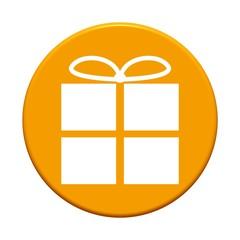 Button rund: Geschenk