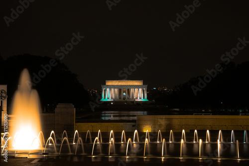 canvas print picture Lincoln Memorial