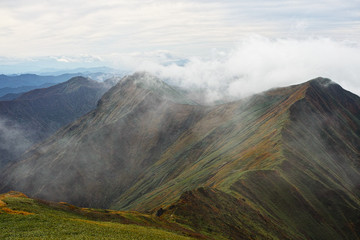 ridge in Autumn