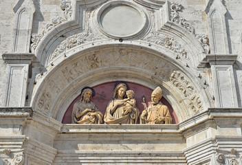 Chiesa di S.Agostino a Montepulciano, Toscana