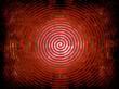 roter Spiralformhintergrund...