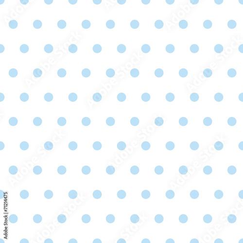 Babyblaues Pünktchenmuster nahtlos wiederholbar / fortsetzbar - 71214475