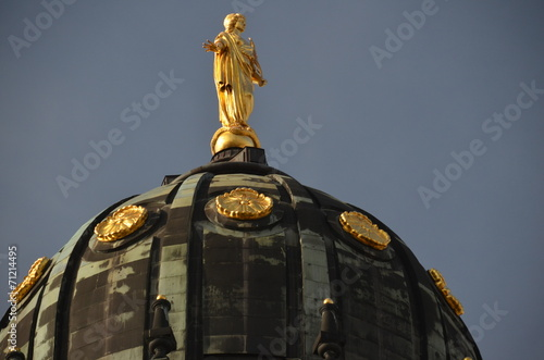 canvas print picture Der Deutsche Dom in Berlin