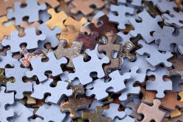 Puzzle heap