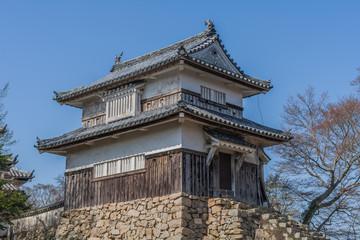 備中松山城の2重櫓