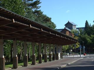 サッポロビール園のバス停