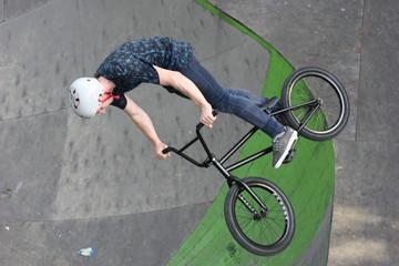 Extreme BMX jumping Park in Krasnodar