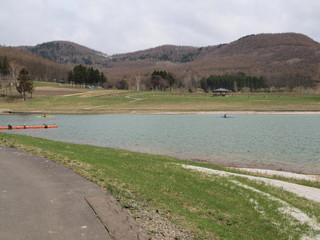 春のかなやま湖
