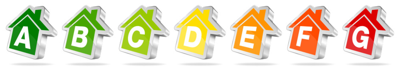 Energieeffizienz Icons