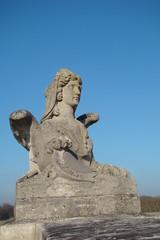 Sculpture de sphynx,Domaine de Chantilly