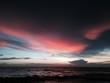canvas print picture - sonnenuntergang am ozean