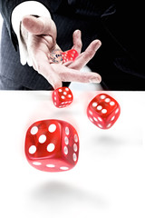 Business Dice Throw