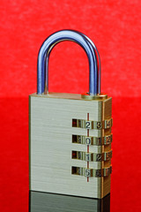 New Year Padlock 2015 - Closed